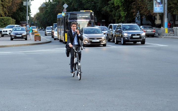 Підрахунок велосипедистів київ