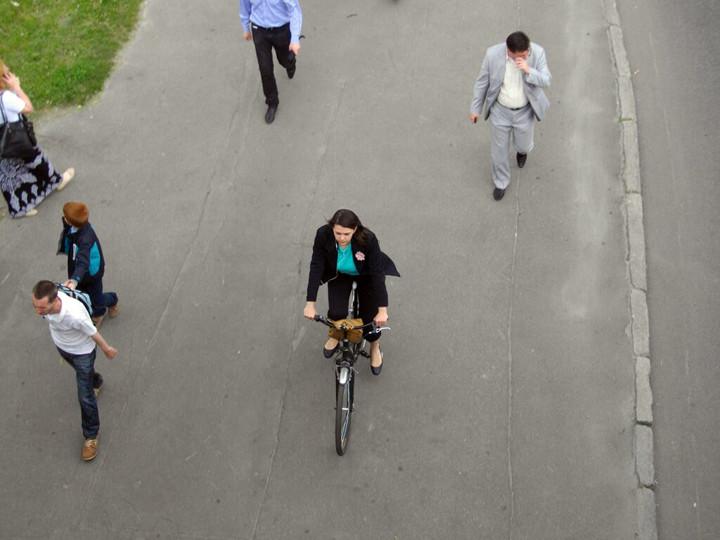 Підрахунок велосипедистів весна 2015
