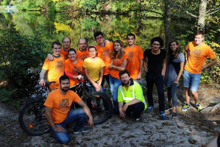 збори велотренерів АВК у Пущі-Водиці восени 2016 року