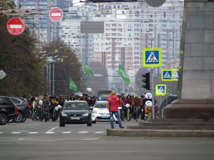Харків - Велодоріжка проспектор Науки