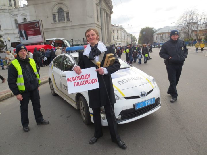 Харків - Свободу пішоходу