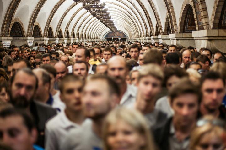 пробки метро Київ
