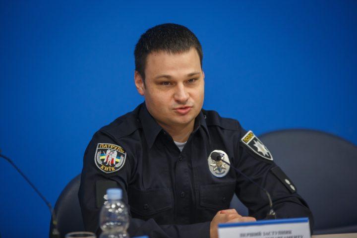 Перший заступник начальника Департаменту патрульної поліції Олексій Білошицький